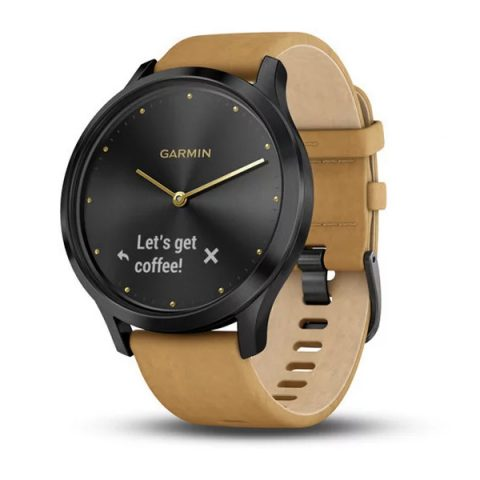 Onyx Black with Tan Suede Band